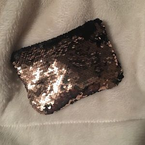 Sequin Coin Pouch